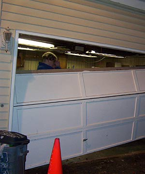 Beaumont Texas garage door repair